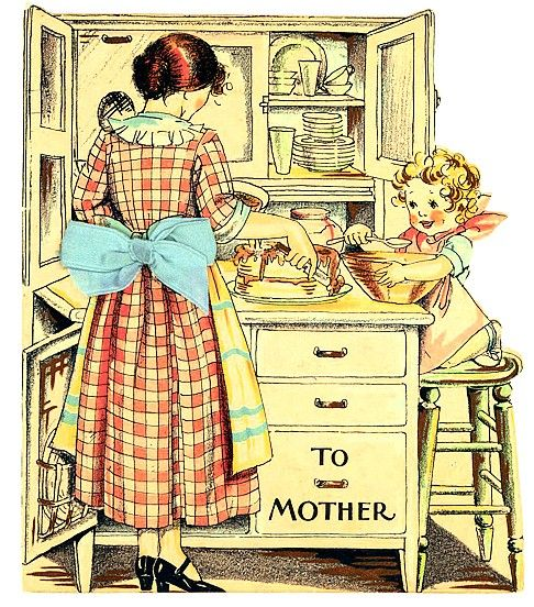Ms Dow Antiques Tique Talk by Marianne Dow: Vintage Mothers Day Cards and History: