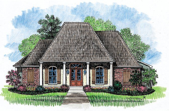 1000 ideas about acadian house plans on pinterest house for Louisiana acadian house plans