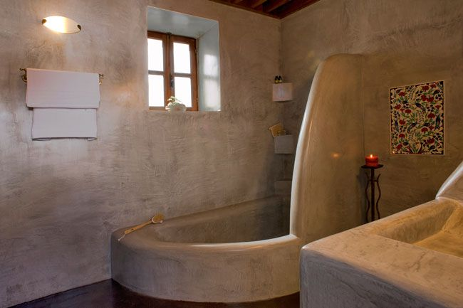 Concrete Bathtub Design