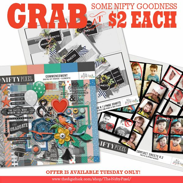 Our January $2 Tuesday Deals, grab them today only!