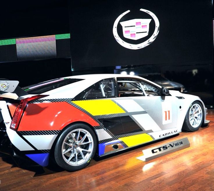 32 best Cadillac CTS-V Coupe Race Car images on Pinterest | Cadillac