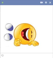 Send as many smileys as you like in a single message! #FacebookChat #Emoticons