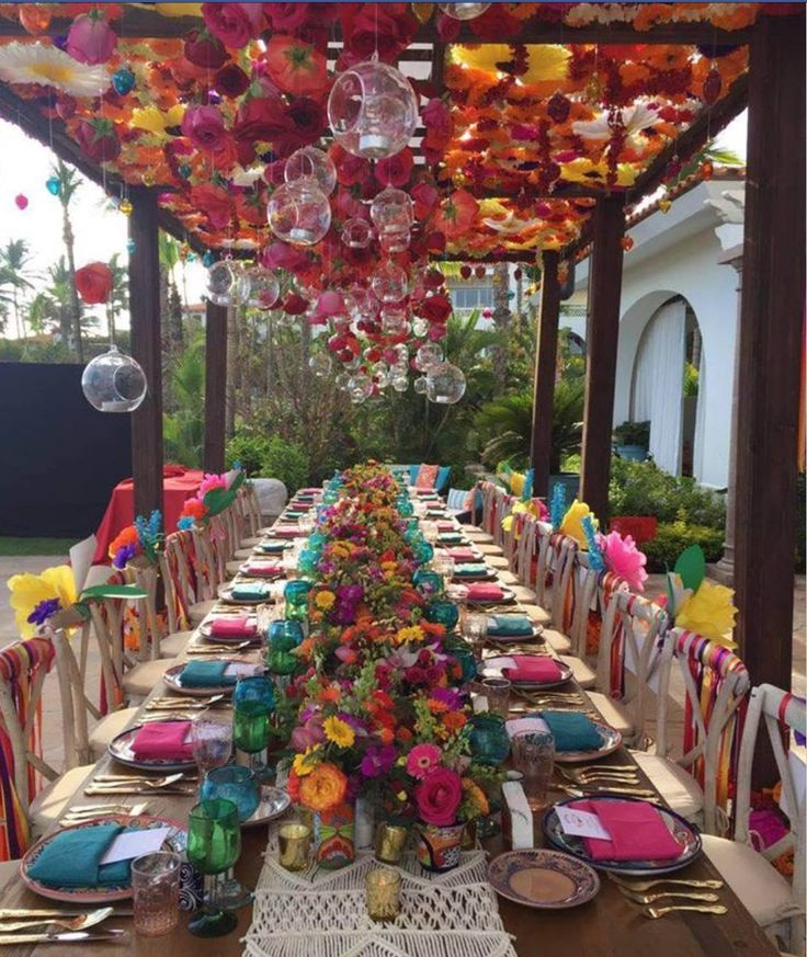 Diy Ideas Party Ideas Spanish Style Comment