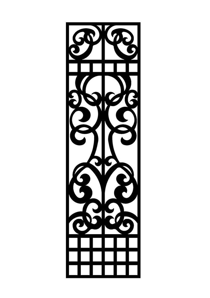 LASER_CUT STEEL DOOR