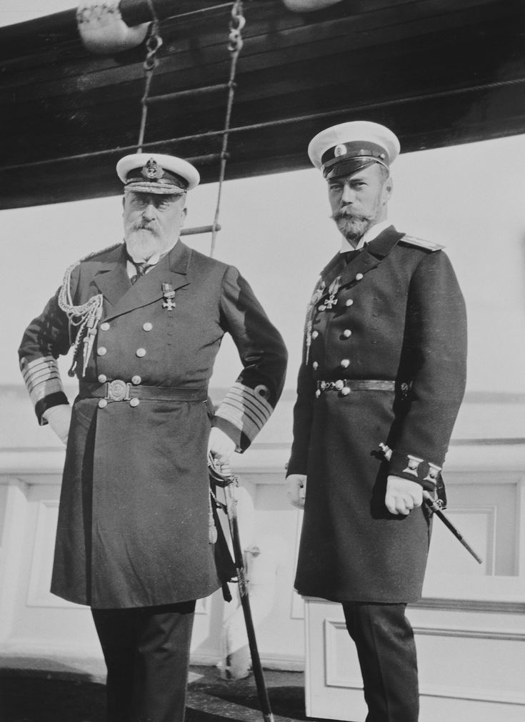 King Edward VII and Tsar Nicholas II | Royal Collection ...