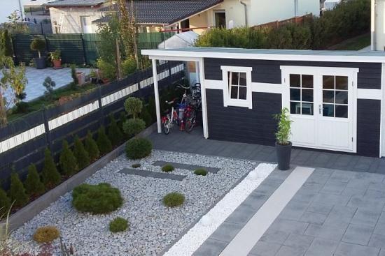 Kundenbild: Gartenhaus York-40 mit Schleppdach