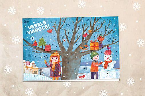 Vianočná pohľadnica 4