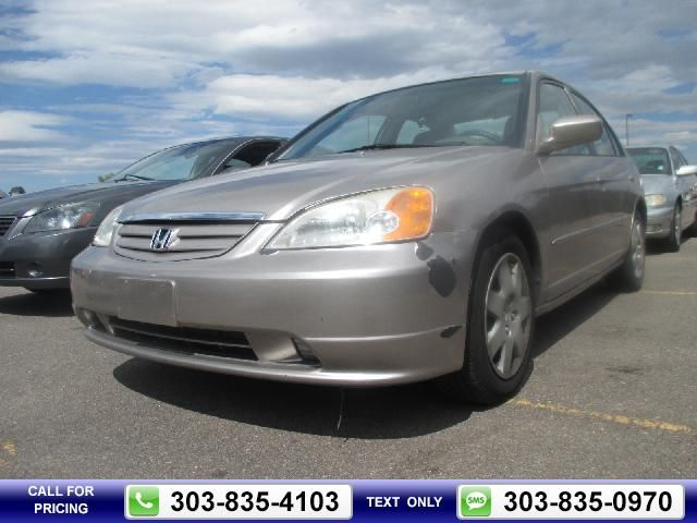 2002 Honda Civic EX Silver $3,400 163174 miles 303-835-4103 Transmission: Automatic  #Honda #Civic #used #cars #PacificAutoAuction #CommerceCity #CO #tapcars
