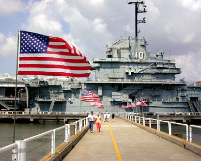 Patriots Point, SC.  Probably one of the neatest and most memorable places we have ever taken our kids.  We will go back again.