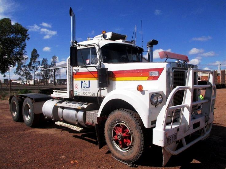 1980, WHITE. RoadBoss, PrimeMover, Australia. Road