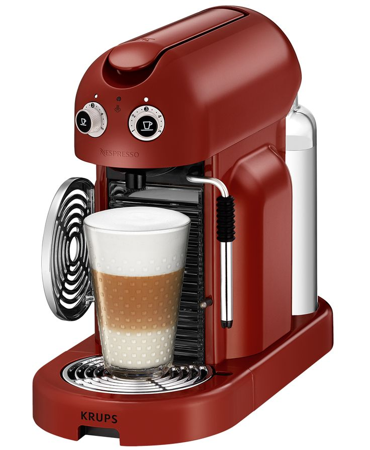 Coffee Maker Sweet Home : Krups Maestria Red Coffee Machine Nespresso Home sweet home Pinterest Nespresso, Red and ...