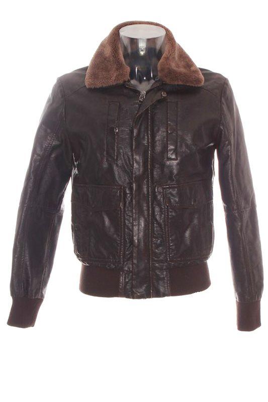 Bomber Jacket. Cazadora Hombre – Zara Youth en Marrón Oscuro de Segunda Mano  ropasion.com