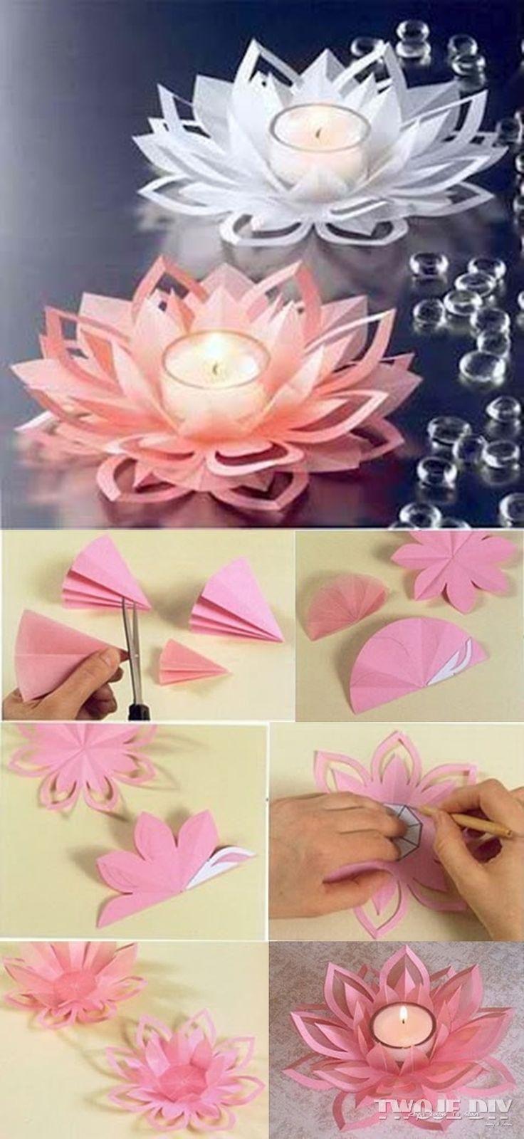 Kwiatowy świecznik