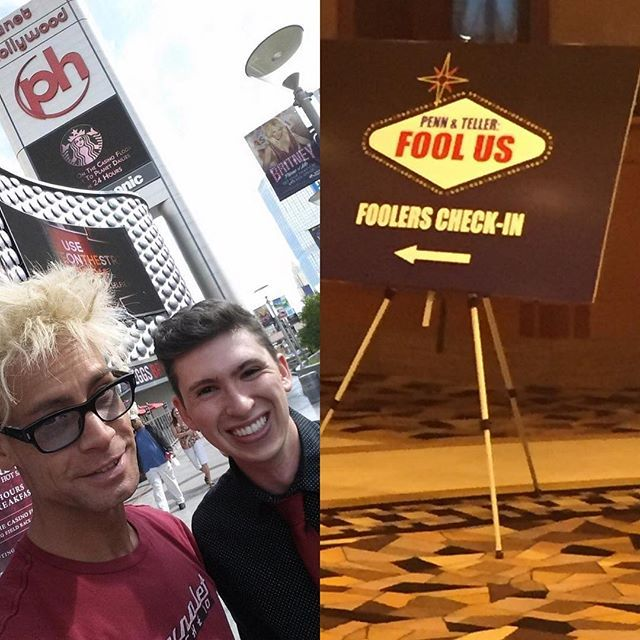 April 9th is a special day to me. On April 9th 2015, I made a last minute trip from Tennessee to Las Vegas for the first time. In one weekend I partied at the now-demolished Riviera, guest starred in @murraysawchuck 's show at Planet Hollywood and at Nellis AFB, and decided I wanted to move to Vegas.  On April 9th 2016, I came to Vegas semi-secretly to film for Penn & Teller's Fool Us, my first national TV appearance. And now, April 9th 2017, I'm laying in bed, enjoying a day off in the…