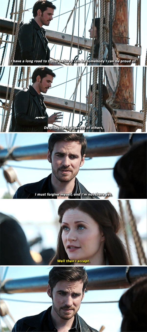 "Killian Jones and Belle - 6 * 2 ""A Bitter Draught"""