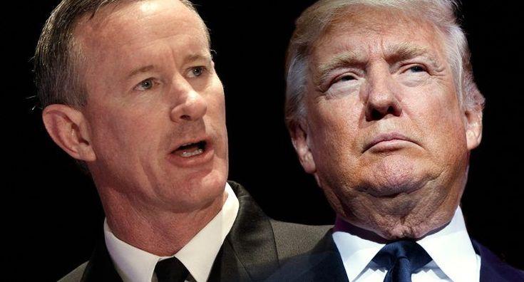 Bin Laden raid architect McRaven says Trump media attack threatens democracy