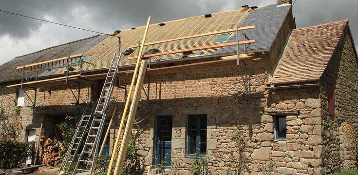 Travaux et prix d une sur l vation de toiture agrandissement pinterest toiture travaux et for Surelevation toiture prix
