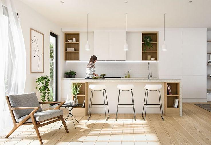 Construindo Minha Casa Clean: Cozinhas Escandinava – Dicas e Inspirações!