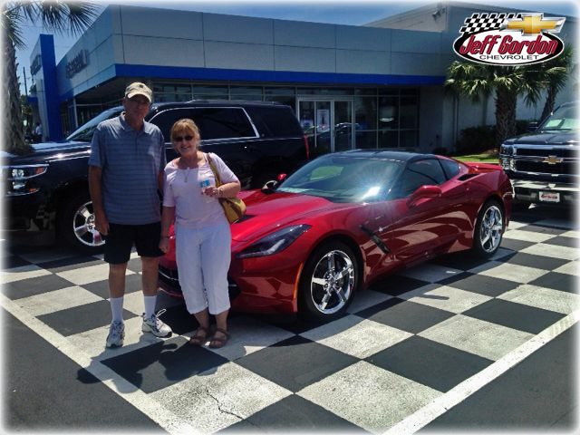 Ayars Celebrating 61 Years Of By Bringing Home Their 2014 Stingray In  Crystal Red Metallic!