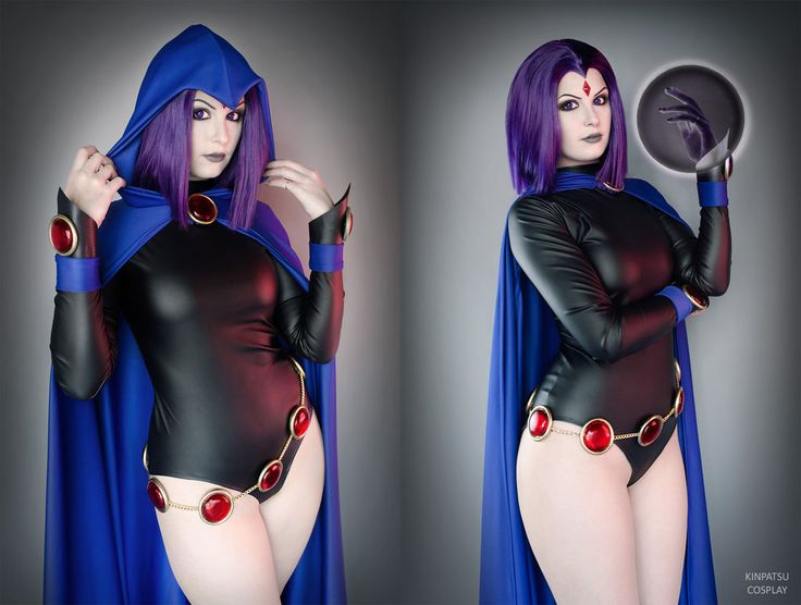 Raven - Teen Titans by Kinpatsu-Cosplay on DeviantArt