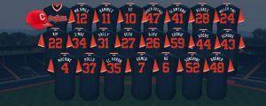 Resultado de imagen para camisas de todos los equipos de mlb con sus apodos