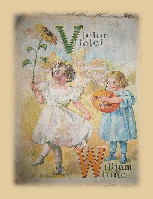 V Is For Violet1920s Children Book