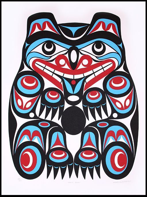 17 best images about native art on pinterest a button for Native american tattoo artist seattle