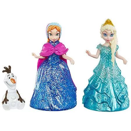 Disney Frozen Glitter Glider Anna, Elsa and Olaf
