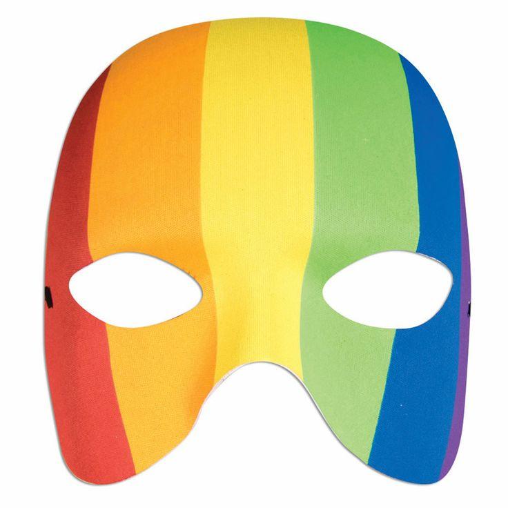 Pride Rainbow Mask