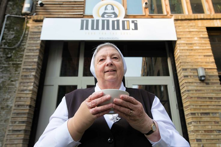 Nuns open restaurant offering free food in London – named 'Nundos'   CatholicHerald.co.uk      The restaurant opened in Shoreditch as part of Channel 5's 'Bad Habits, Holy Orders' series http://catholicherald.co.uk/news/2017/10/19/nuns-open-restaurant-offering-free-food-in-london-named-nundos/?utm_campaign=crowdfire&utm_content=crowdfire&utm_medium=social&utm_source=pinterest
