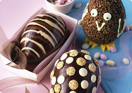 Easter receipe ideas including Chocolate eggs. yum!!!