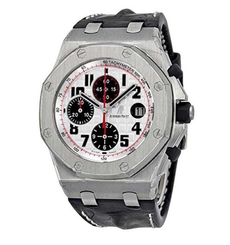 Audemars Piguet Royal Oak Offshore Silver Mens Watch! £30,326.99 Blowabag.com #AP #AudemarsPiguet #Watches #WatchPorn #Blowabag