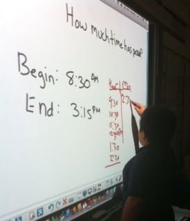 Using T-Charts To Solve Elapsed Time Problems