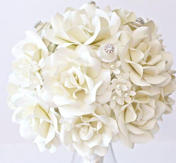 Custom paper flower bouquets