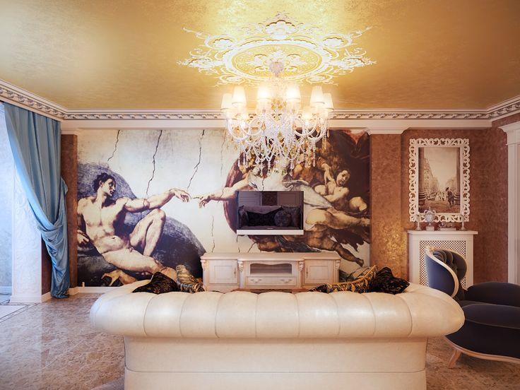 настенные часы в интерьере гостиной фото: 21 тыс изображений найдено в Яндекс.Картинках