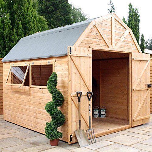 ★★ Premier Shiplap ★★ 10x8 Wooden Garden Shed ♦ Dutch Barn ♦ Apex ♦ Windows