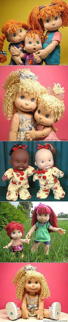 Текстильные куклы от Mel Birnkrant.