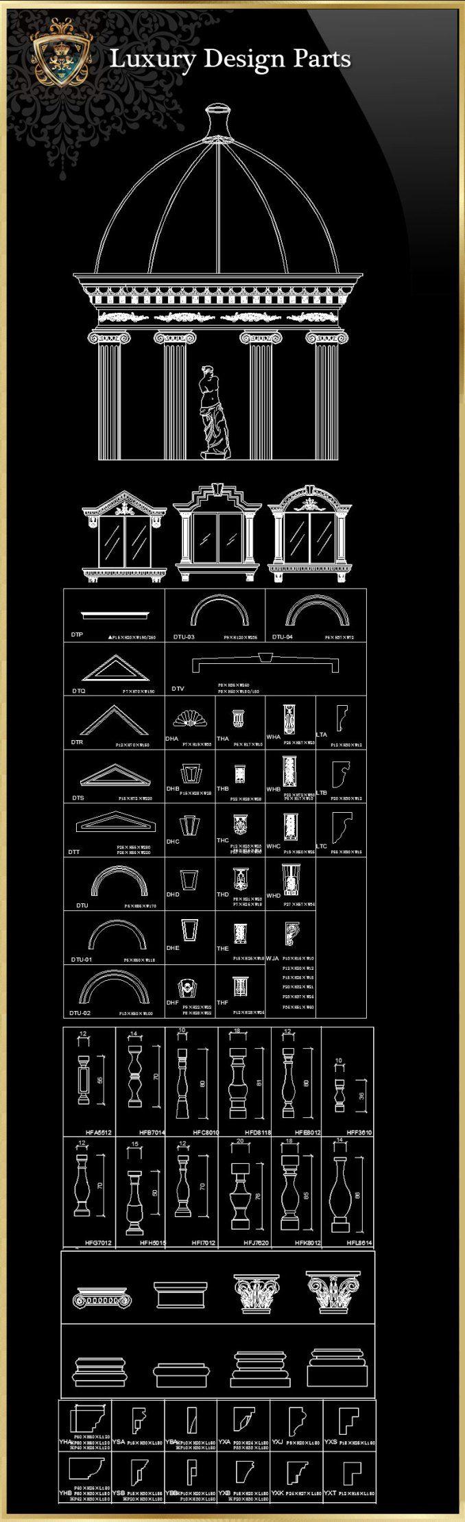 98 best Free, download, autocad, Blöcke, Details, Architektur ...
