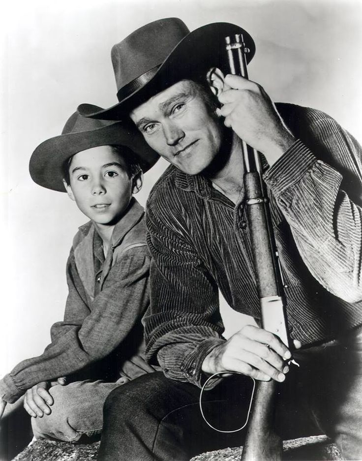 The Rifleman; I loved this series as a really little girl and named my imaginary friend after young Mark.