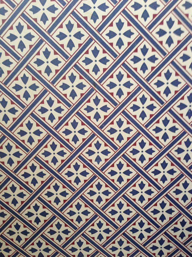 Vintage Laura Ashley wallpaper in my hallway Mr Jones | Bathroom ...