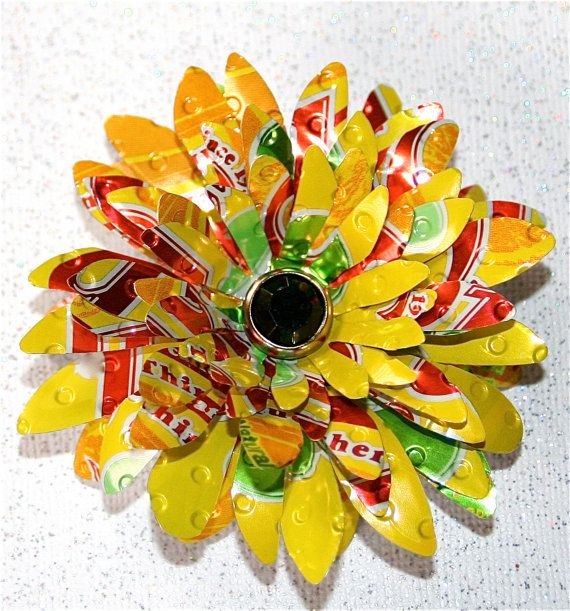 17 best ideas about soda can flowers on pinterest soda for Recycled flower art