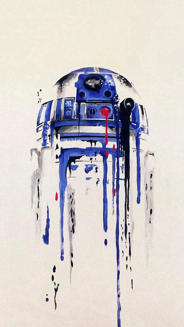 R2-D2 Star Wars Art ;-)~❤~