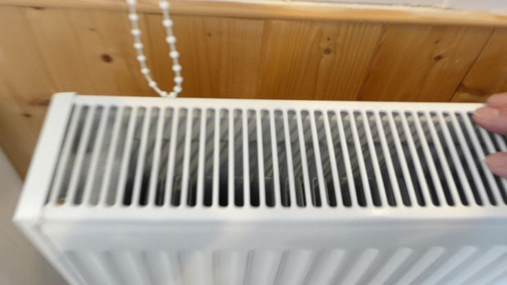 How to remove central heating radiator covers, to clean behind.
