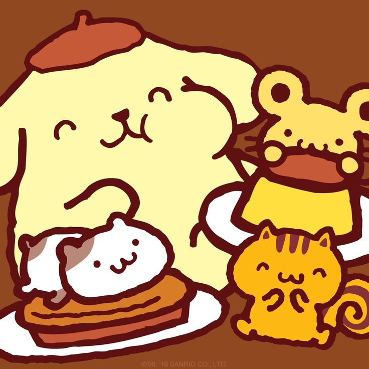 Happy Thanksgiving ٩( 'ω' )و #PomPomPurin