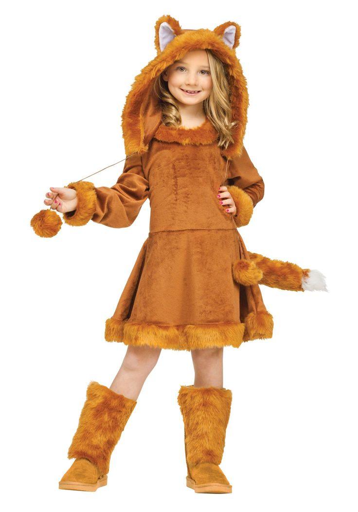 sweet girls fox costume - Halloween Costumes For Girls 11