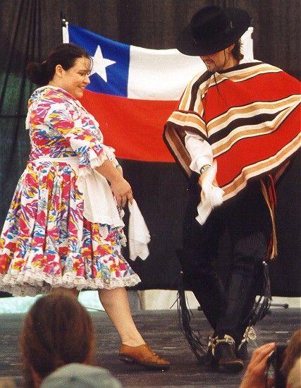 Baile Nacional : La cueca