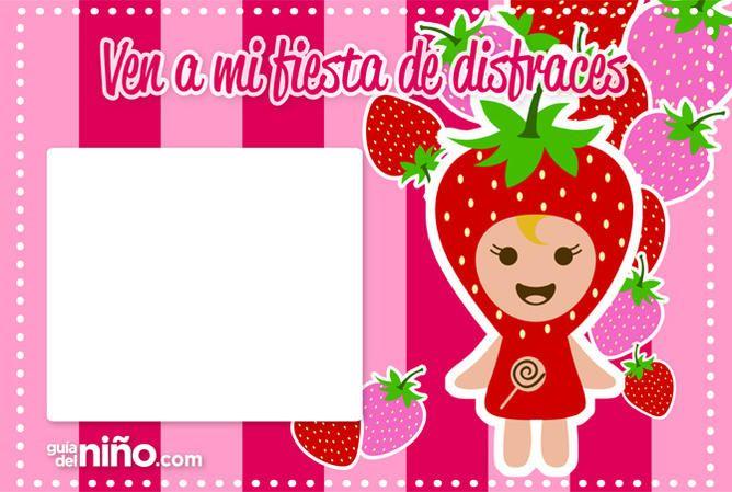 1000 ideas about invitaciones para fiestas infantiles on - Fiesta de disfraces ideas ...