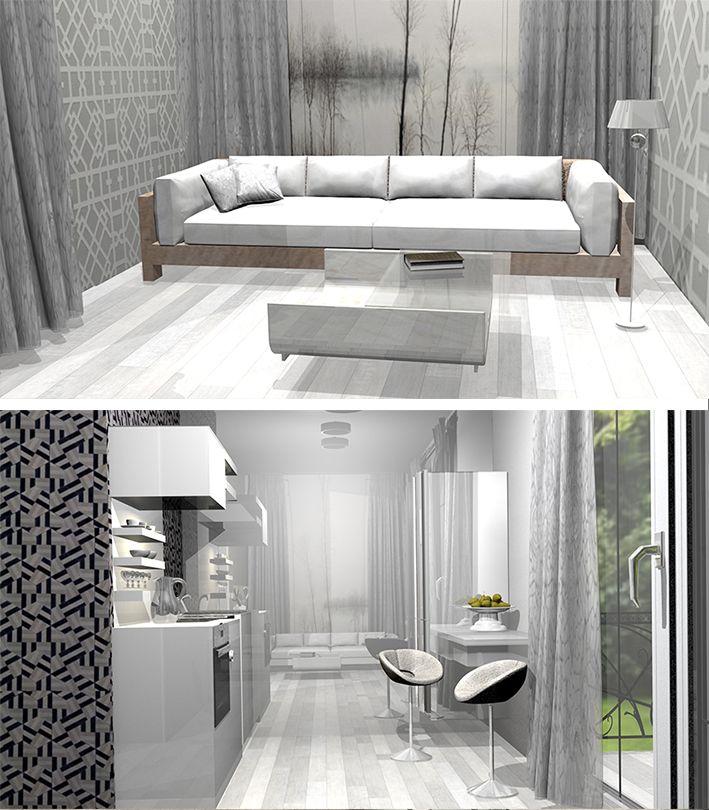 Projektowanie wnętrz pod klucz, apartament Nysa / Turnkey interior design, Apartament Nysa www.spacemanufacture.pl