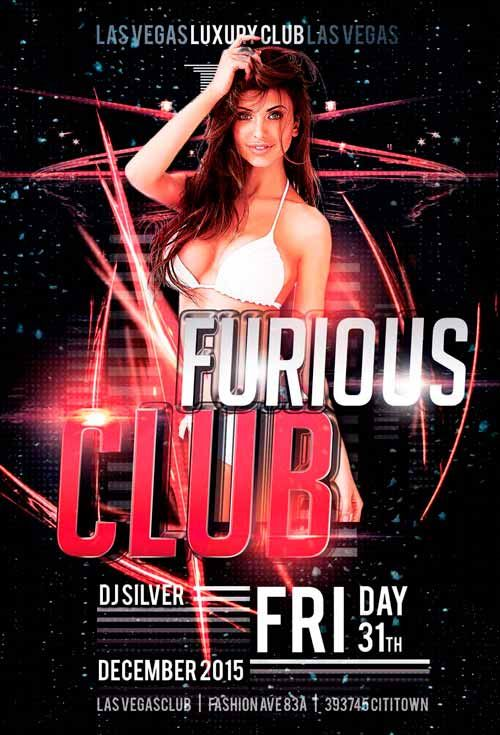 Hot Furious Club Free Flyer Template - http://freepsdflyer.com/hot-furious-club-free-flyer-template/ Enjoy downloading the Hot Furious Club Free Flyer Template created by Awesomeflyer!