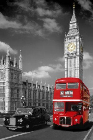Picadilly Bus and Black Cab